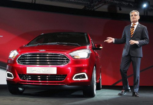Ford India to launch eight new models