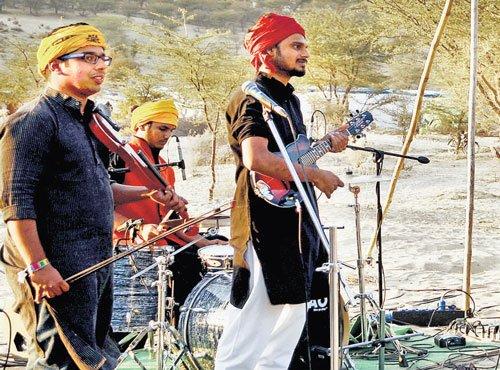 Kabir's words, musically
