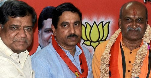 Muthalik's entry into BJP hastened Cong-NCP alliance in Goa