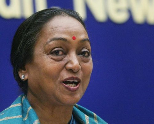 In first poll, she defeated Paswan, Maya