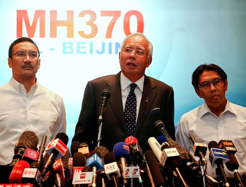 Missing Malaysian plane crashed in Indian Ocean, no survivors