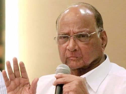 Pawar gets EC stick on 'ink remark'