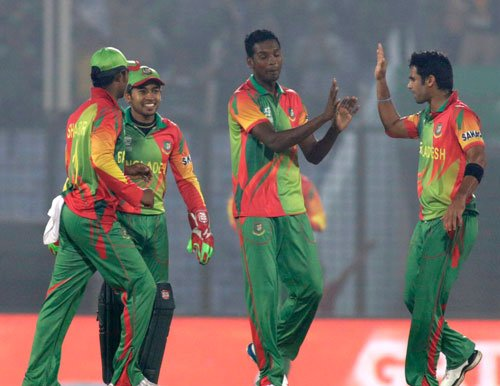 Bangladesh win toss, elect to field against West Indies