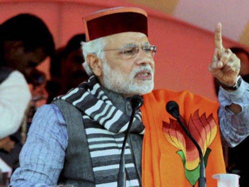 "Modi calls Antony, Kejriwal Pak ""agents"""
