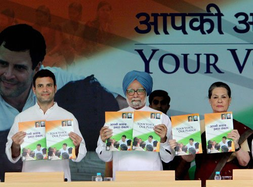 Some new promises, many old ones in Cong manifesto