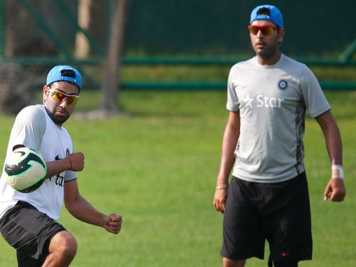 Matter of one innings before Yuvi gets back to form: Rohit