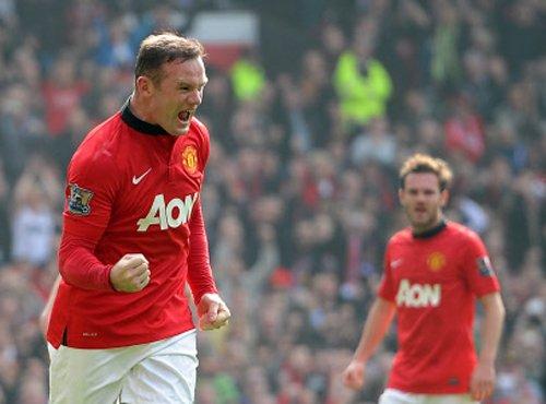 Rooney brace spurs United