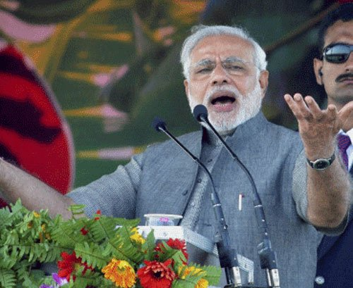 Confident Modi calls himself future prime minister