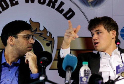 Anand working on ideas for World C'ship rematch with Carlsen