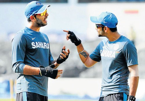 Boost for India as Yuvraj has long stint at nets