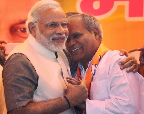 Another Cong candidate joins BJP