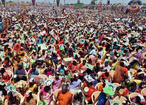 Jaya's poll campaigns leave workers sleepless