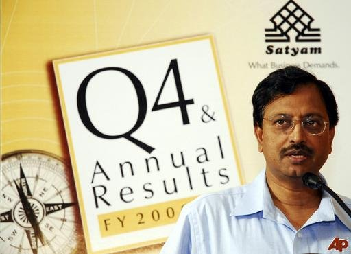 Satyam case: Raju appears in court on money-laundering charges