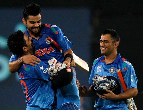 India storm into World T20 final