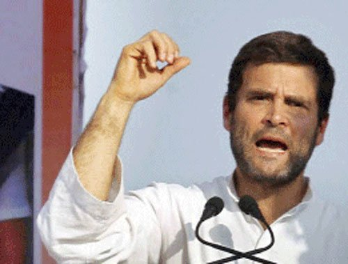 Rahul slams BJP over corruption and communalism