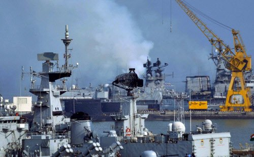 Fire breaks out onboard INS Matanga, no casualty