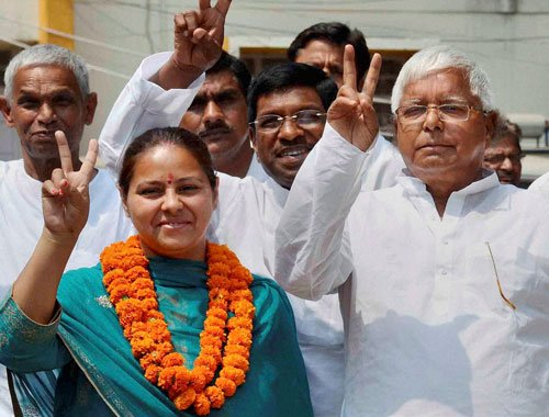 Battle for Pataliputra: Lalu pulls out all stops for Misa