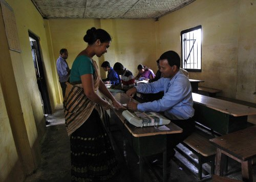 15 percent votes cast in Tripura till 9 AM