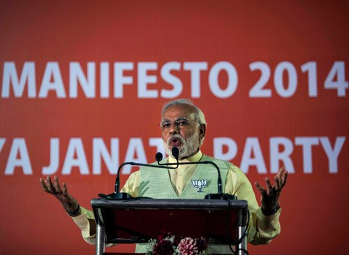 BJP to give priority to growth, but says no to FDI in retail