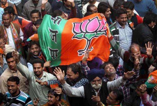 Son of BJP MLA opens fire, 5 Congressmen injured