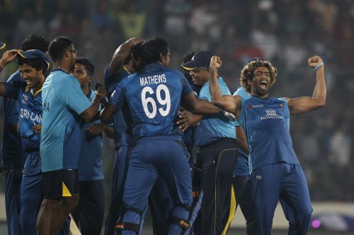 Malinga plays down luck's role in victory