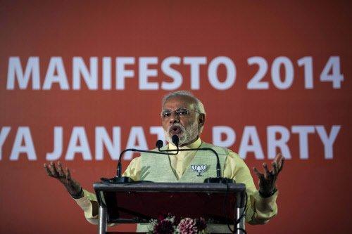 Modi promises hard work, selflessness
