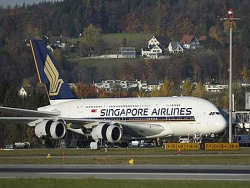 Singapore Airlines all set to fly A-380 to India