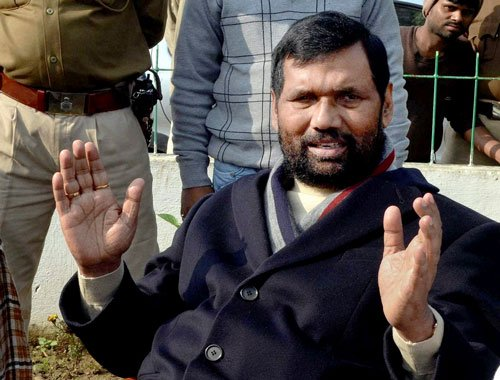 Ram temple is BJP issue, not NDA's: Paswan