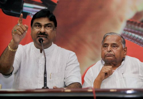 BJP suffers setback as two leaders join SP