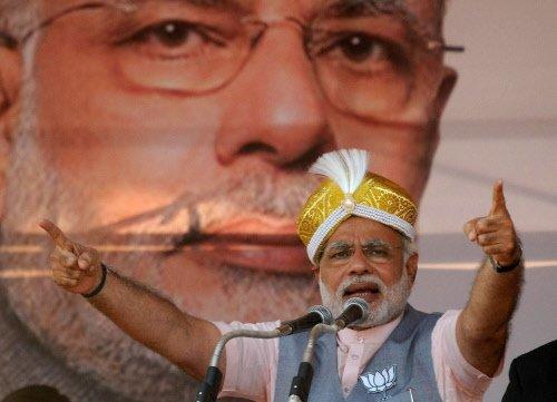 Modi likens UPA govt to computer virus
