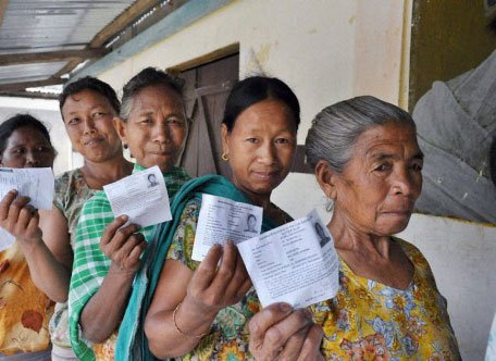 High turnout in North East once again in 2nd phase of LS poll
