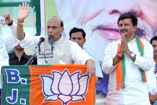 Rajnath demands apology from Siddu for 'narhantak' jibe at Modi