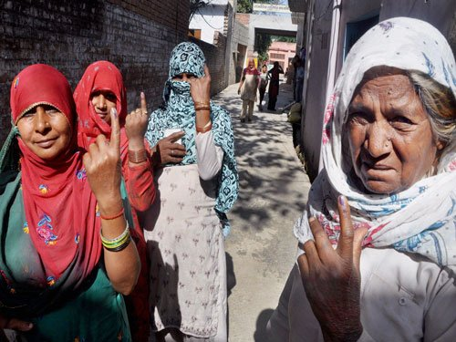 Millions vote peacefully across India