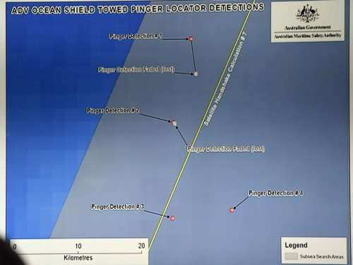 New signal detected in hunt for crashed Malaysian plane