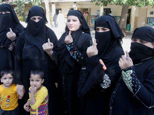 Delhi sees 64 per cent votes cast