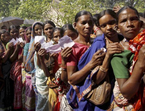 Maoists loot EVMs in Odisha; re-polling on cards