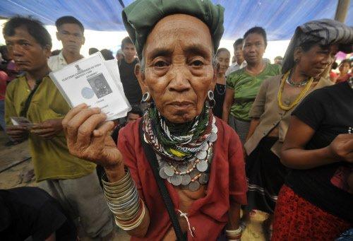 A third of Mizoram votes