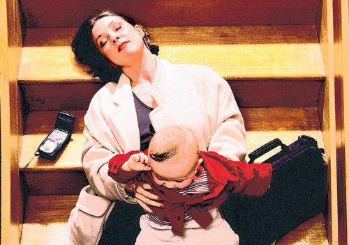 Sleep deprived? Take it like a mommy!