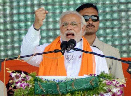 Modi says ready for probe on poll expenses