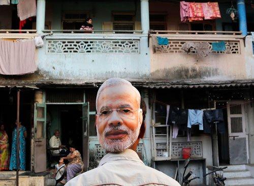 Mumbai's own 'Modi from Malad' basks in reflected glory