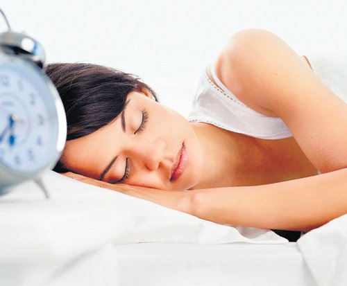 Get a good night's sleep for fresh look