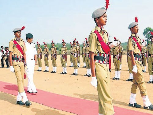 Vice Admiral exhorts cadets to join armed forces