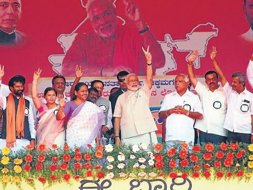 Country needs a stable government: Modi