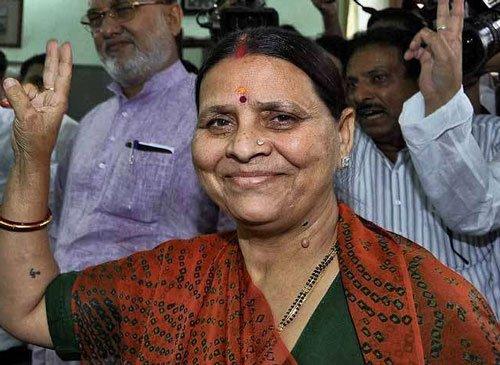 Rabri Devi has Rs 6 cr, owns 45 cows, double-barrel gun, 50 cartridges