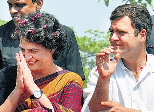 Rahul thinks I should contest polls: Priyanka