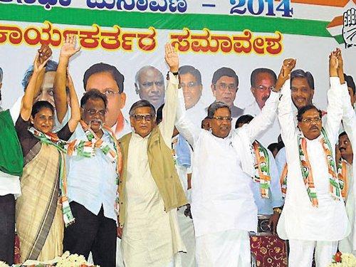 Dissidence resurfaces in Mandya Congress
