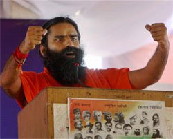 Ramdev using yoga camp for campaigns: Congress