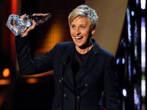 Ellen DeGeneres named most powerful gay celebrity