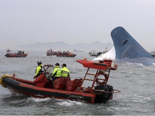 More than 300 people missing after South Korean ferry sinks: coastguard