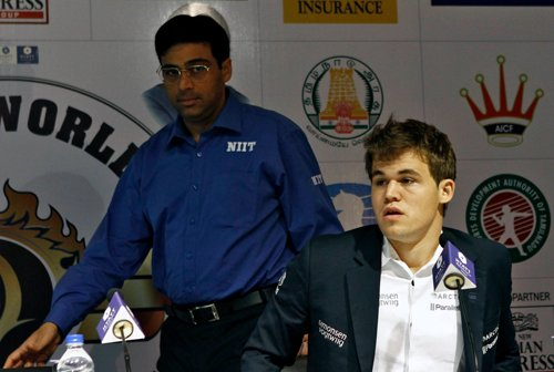 Confident Anand looks forward to re-match against Carlsen